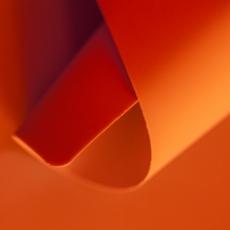 Апельсин суперматовая однотонная